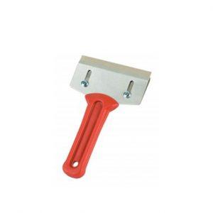 Zum Entfernen alter Lacke und zum Abbeizen, Auswechselbare Klinge aus gehärtetem Qualitätsstahl, ergonomisch geformter Kunststoffgriff.-Geräte und Zubehör-Abscherspachtel-Mako