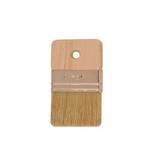 Reine helle Chinaborste, Weißblechfassung, Holzgriff. 70 mm-Geräte und Zubehör-CL-Pinsel-Mako