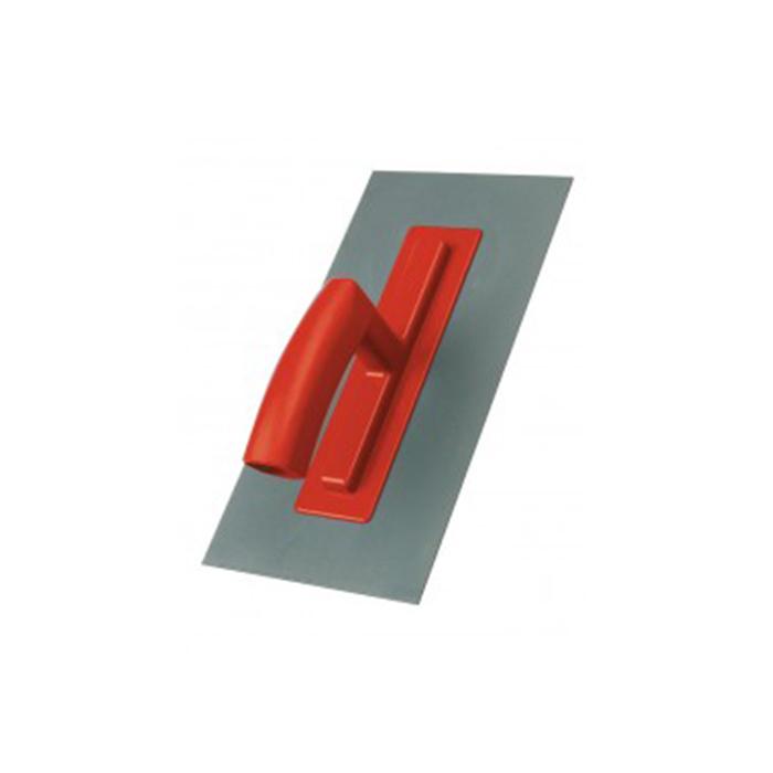 Zum Abziehen und Glätten von Putz und Mörtel. Strapazierfähiges Kunststoffblatt 2 mm, Kunststoffgriff.-Geräte und Zubehör-Glättkelle-Mako