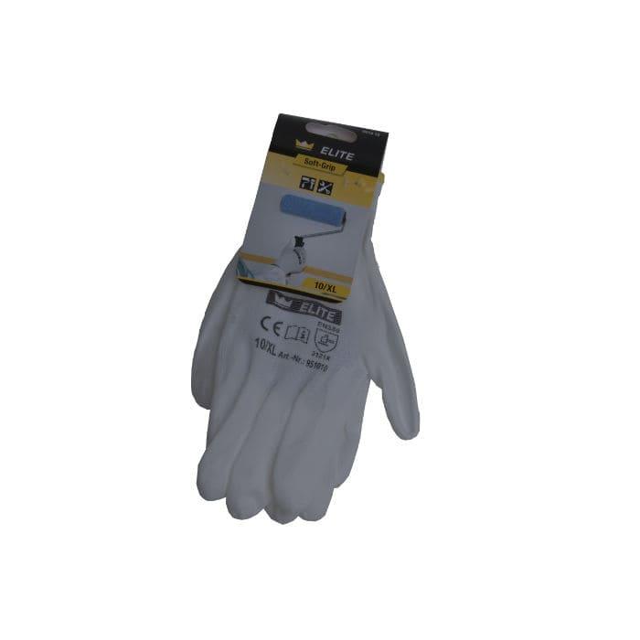 PU-Handschuhe Soft-Grip weiss, Gr. 10XL